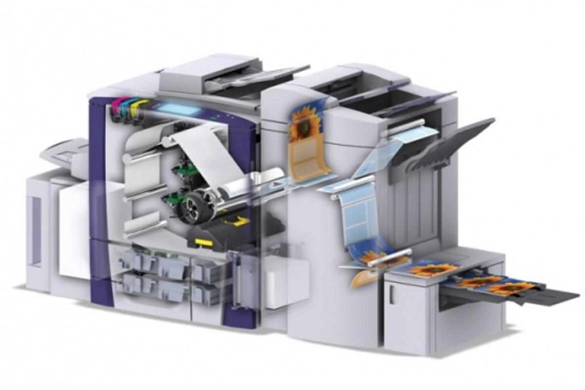 Under the hood of the Xerox ColorQube 9200 Series multifunction printer