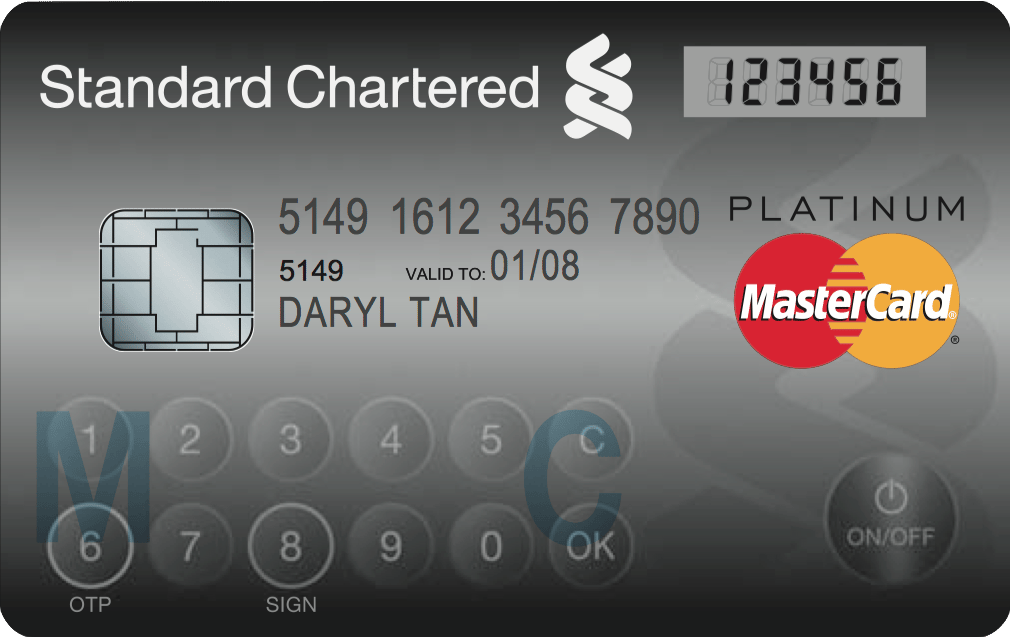 This coming January, MasterCard Worldwide will makes its largest deployment of its Display Card, in Singapore