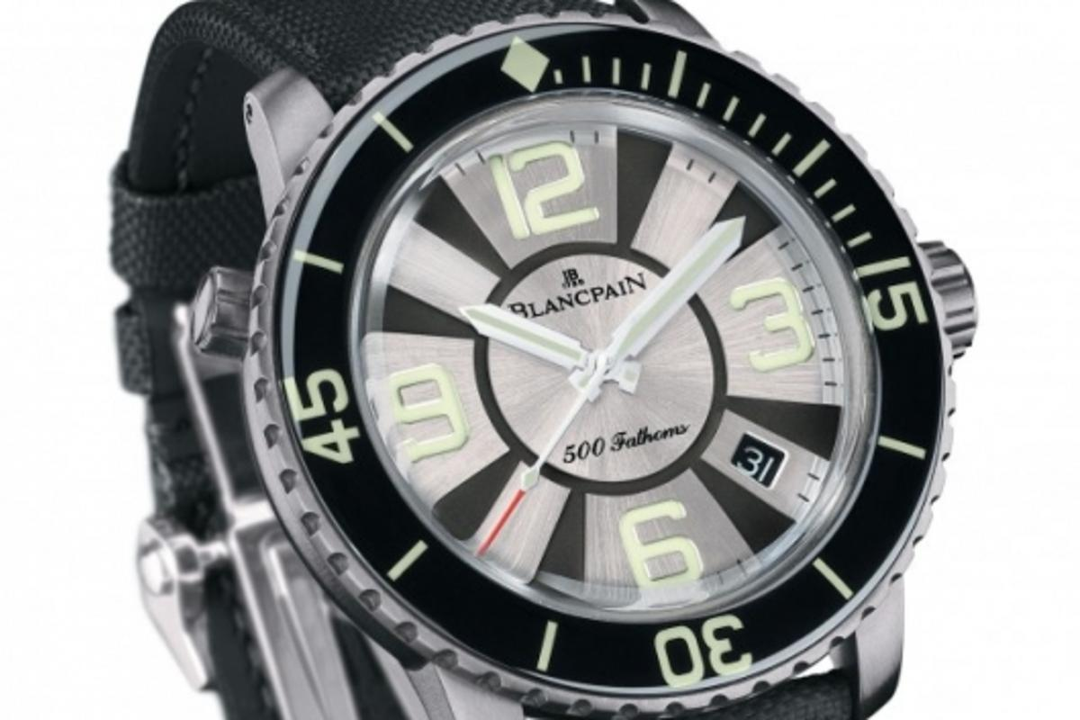 The Blancpain 500 Fathoms watch