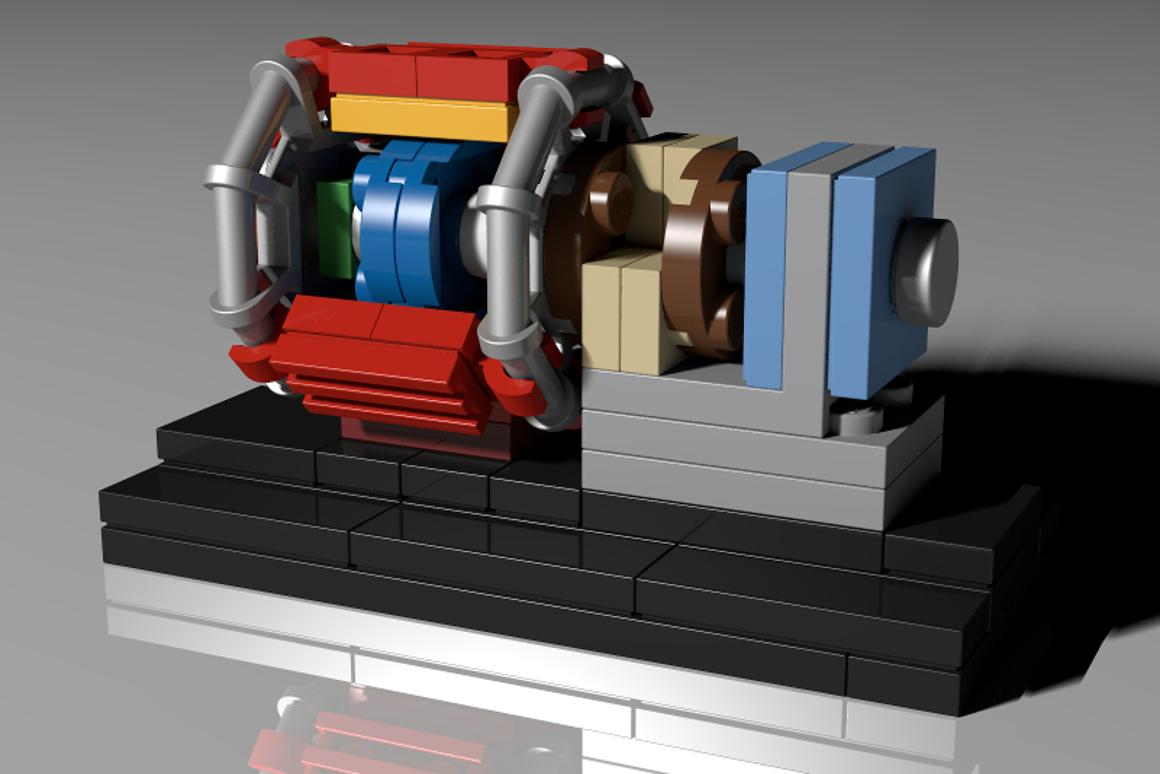 APhD student working at CERNhas had his LEGO proposal for an LHC LEGOkitpass the 10,000 supporter mark , meaning that it will be considered for possible official production
