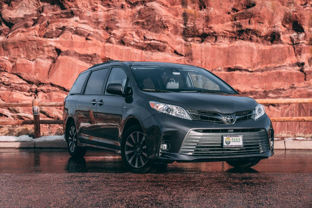 The Toyota Sienna offers a different look for a camper van