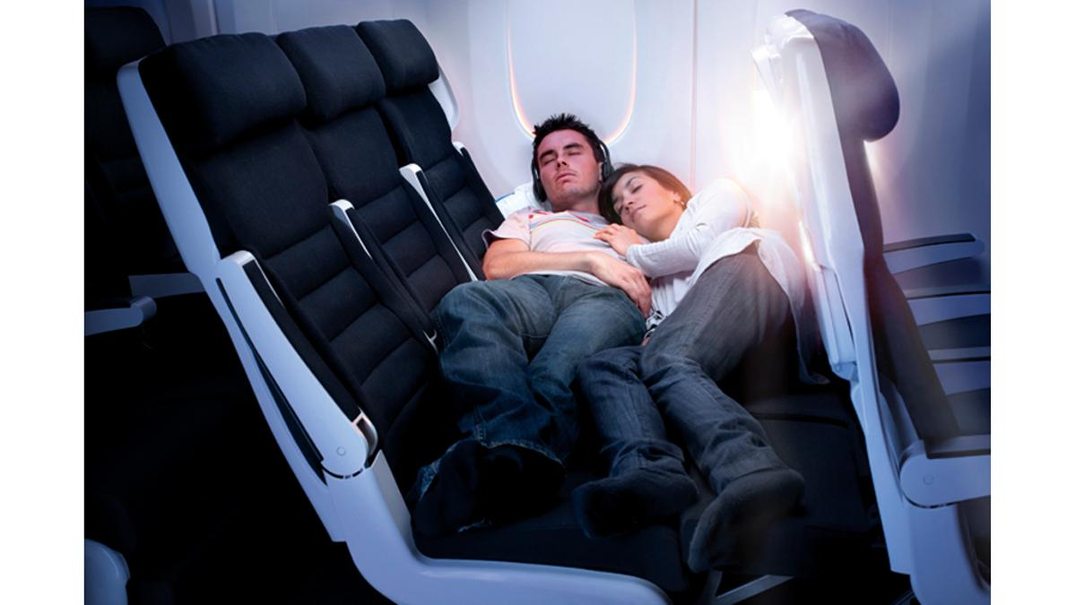 Air New Zealand's Skycouch could make a decent night's sleep on long haul flights a real possibility