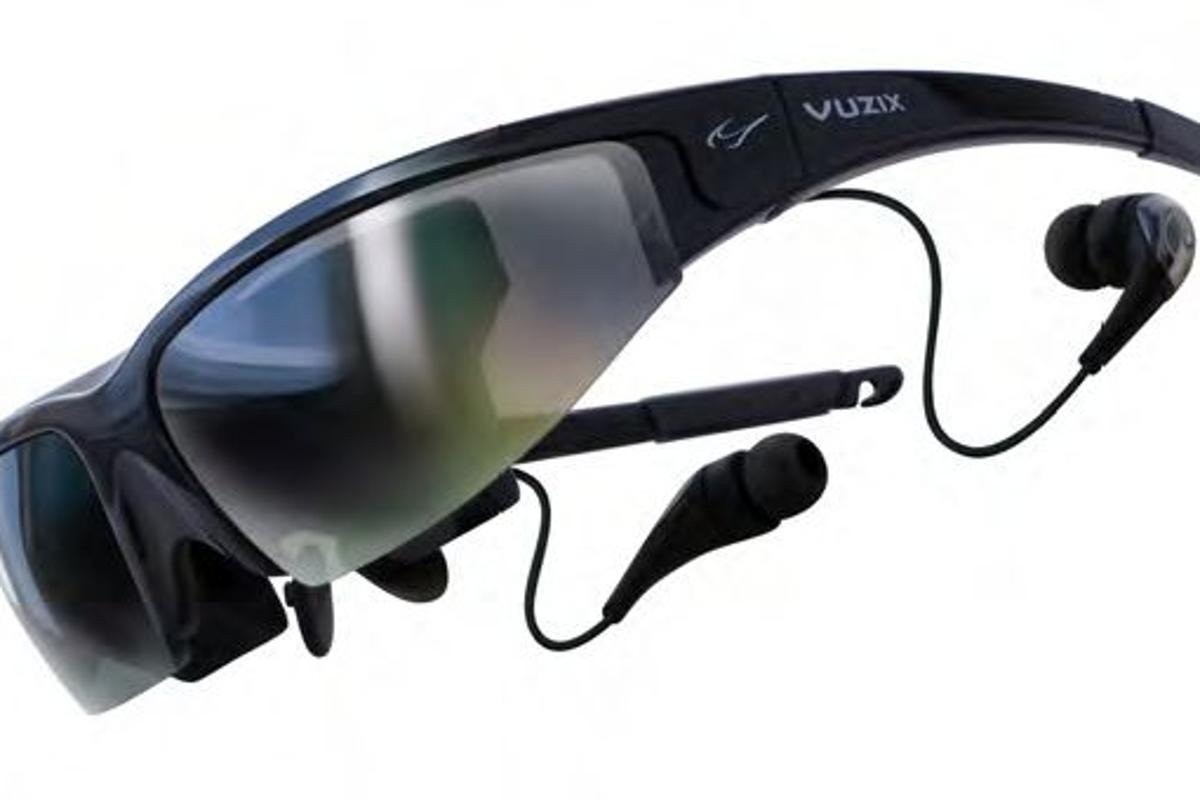 Weighing approximately 3oz (85 grams), Vuzix Wrap 1200 offers twin 852 x 480 LCD true color (16 million colors) displays