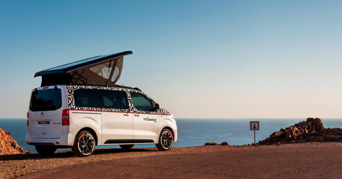 Citroenist concept aims to be ultimate work/play 4x4 camper van for digital nomads