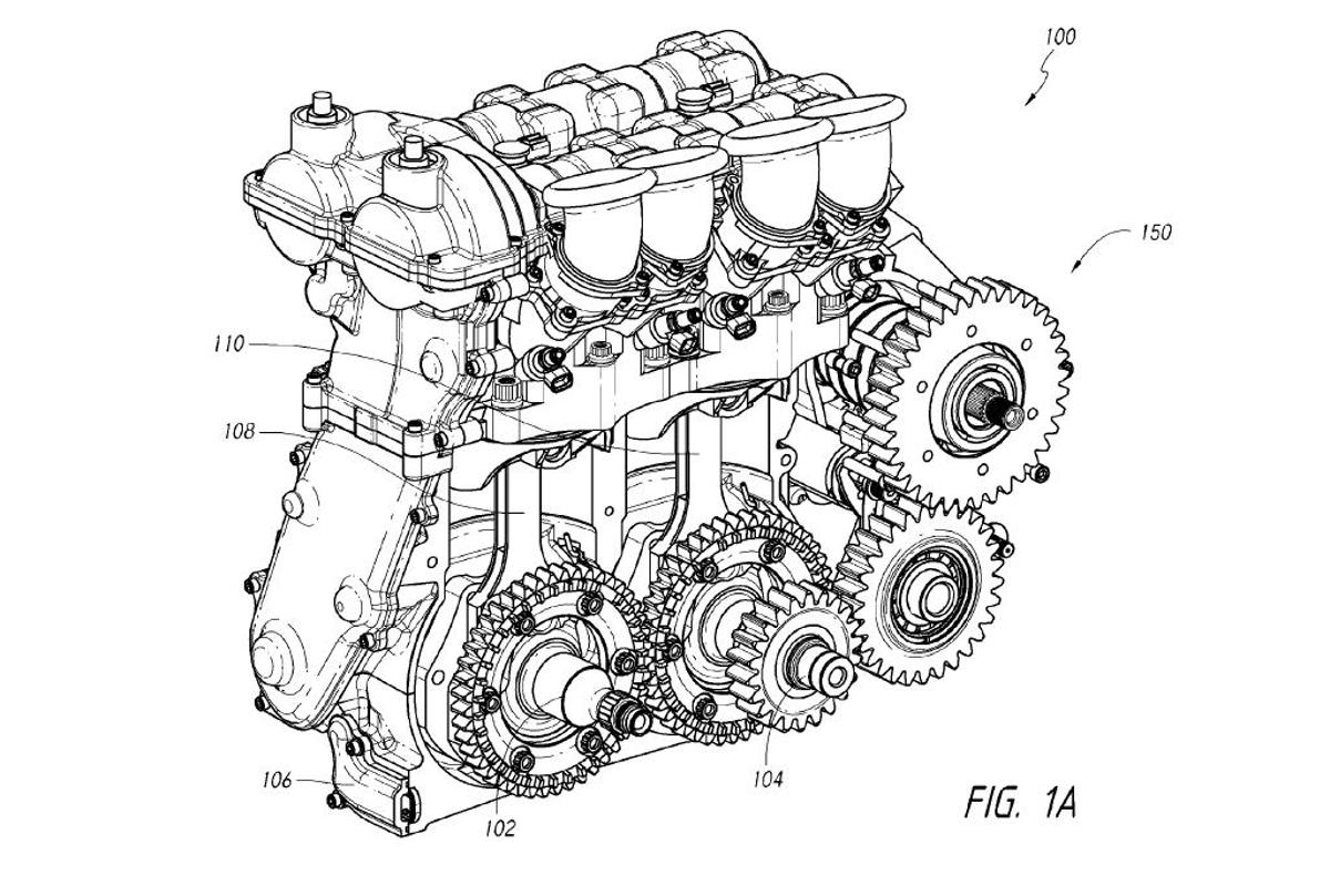 Dan Gurney's Moment-Cancelling Four-Stroke Engine attempts to re-invent the internal combustion engine