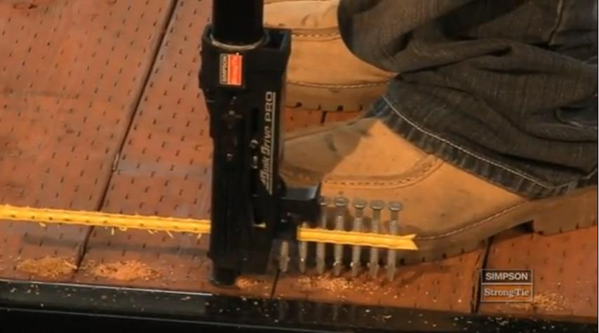 Quik-Drive Auto-Feed screwdriver: gorgeous.