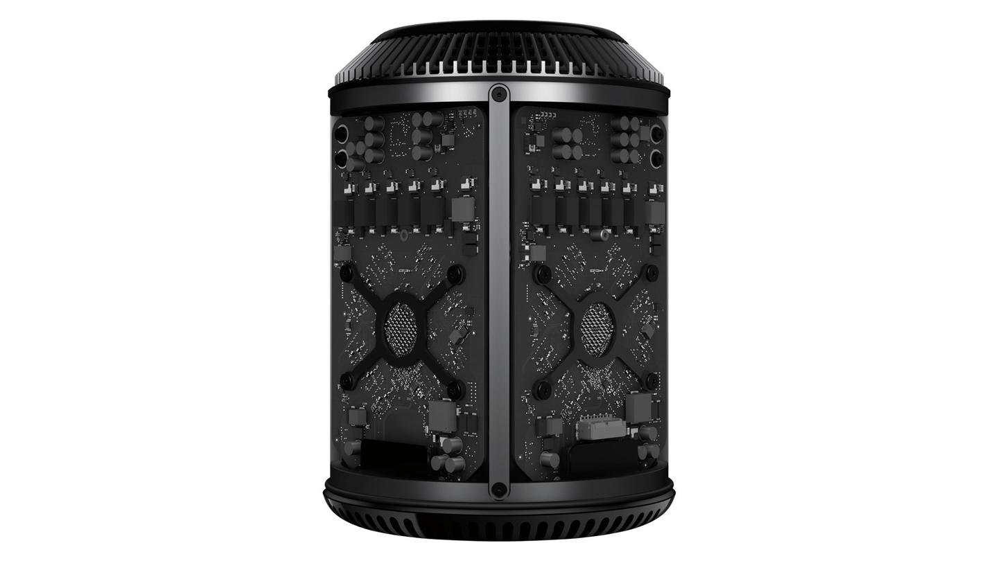 Mac Pro, with internals exposed
