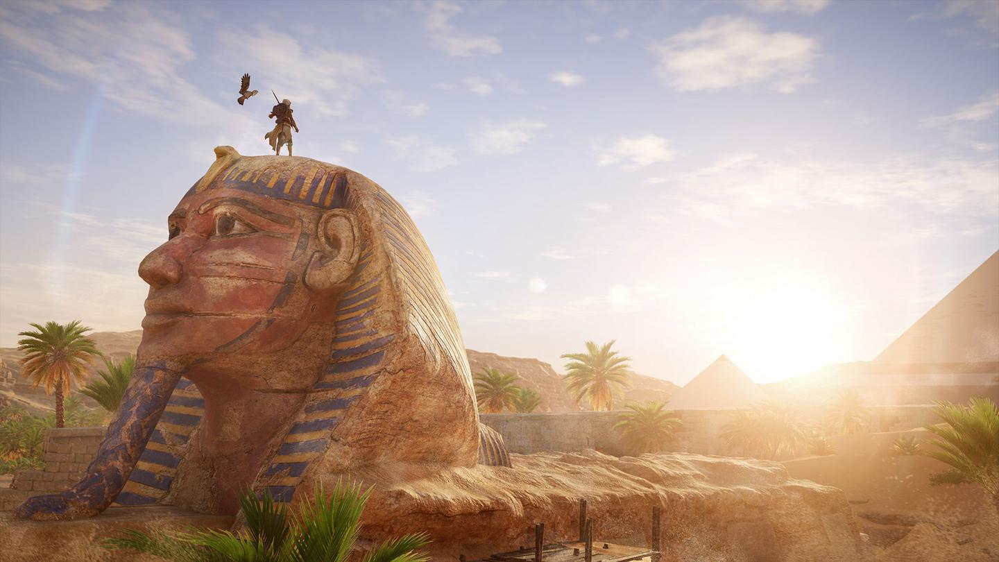 The Sphinx, as depicted in Assassin's Creed: Origins