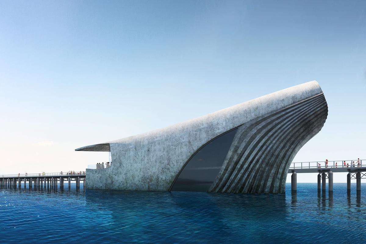 The Australian Underwater Discovery Centre is expected to be completed by December, 2022