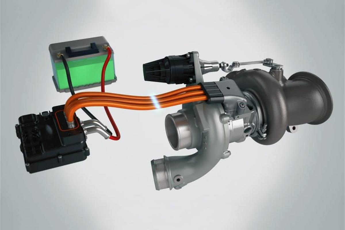 Garrett has designed its E-Turbo specifically to work with the 48-volt systems now being used in many production vehicles