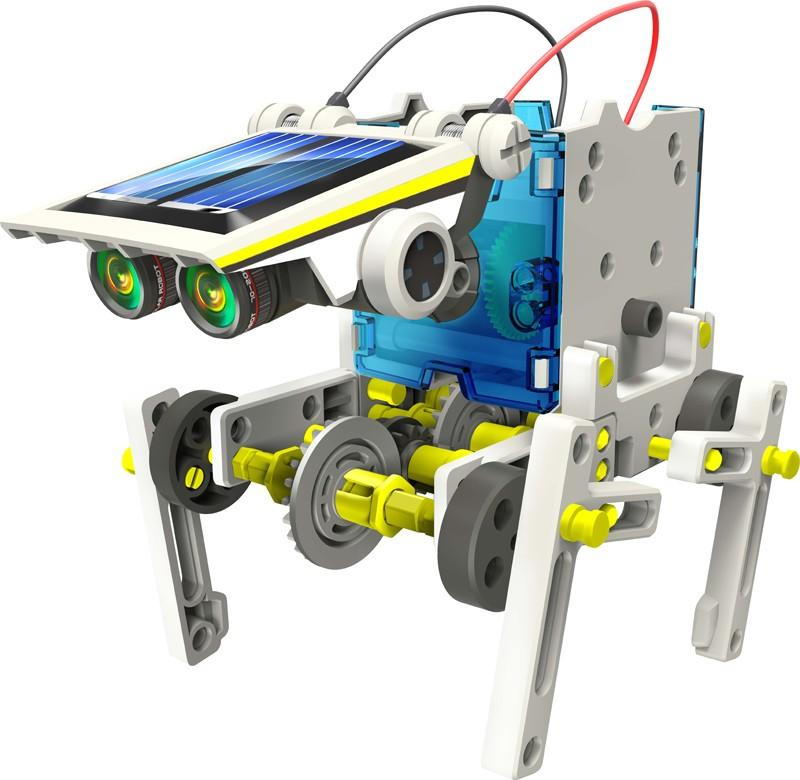 Quadru-bot is just one of the kit's 14 forms