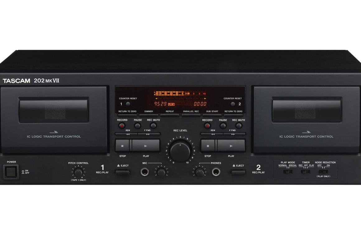Tascam shows that audio cassettes are not dead yet with