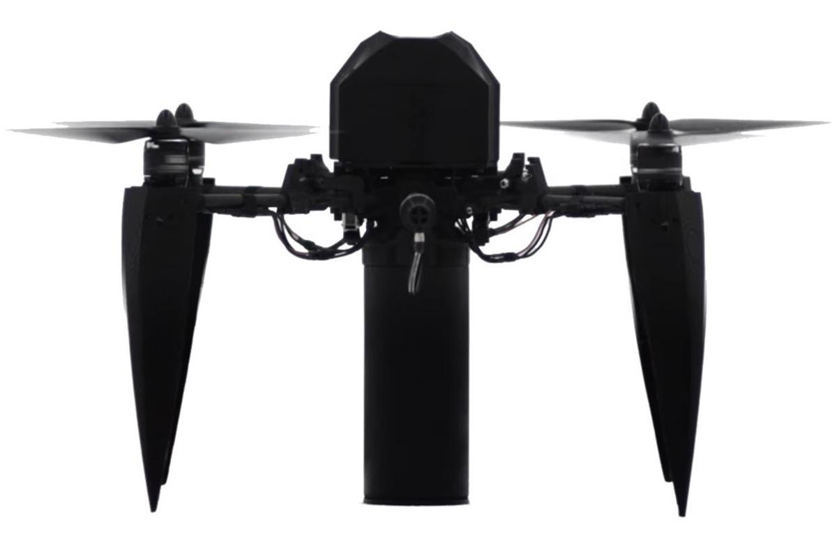 The Katsuru Beta drone, seen here in prototype form