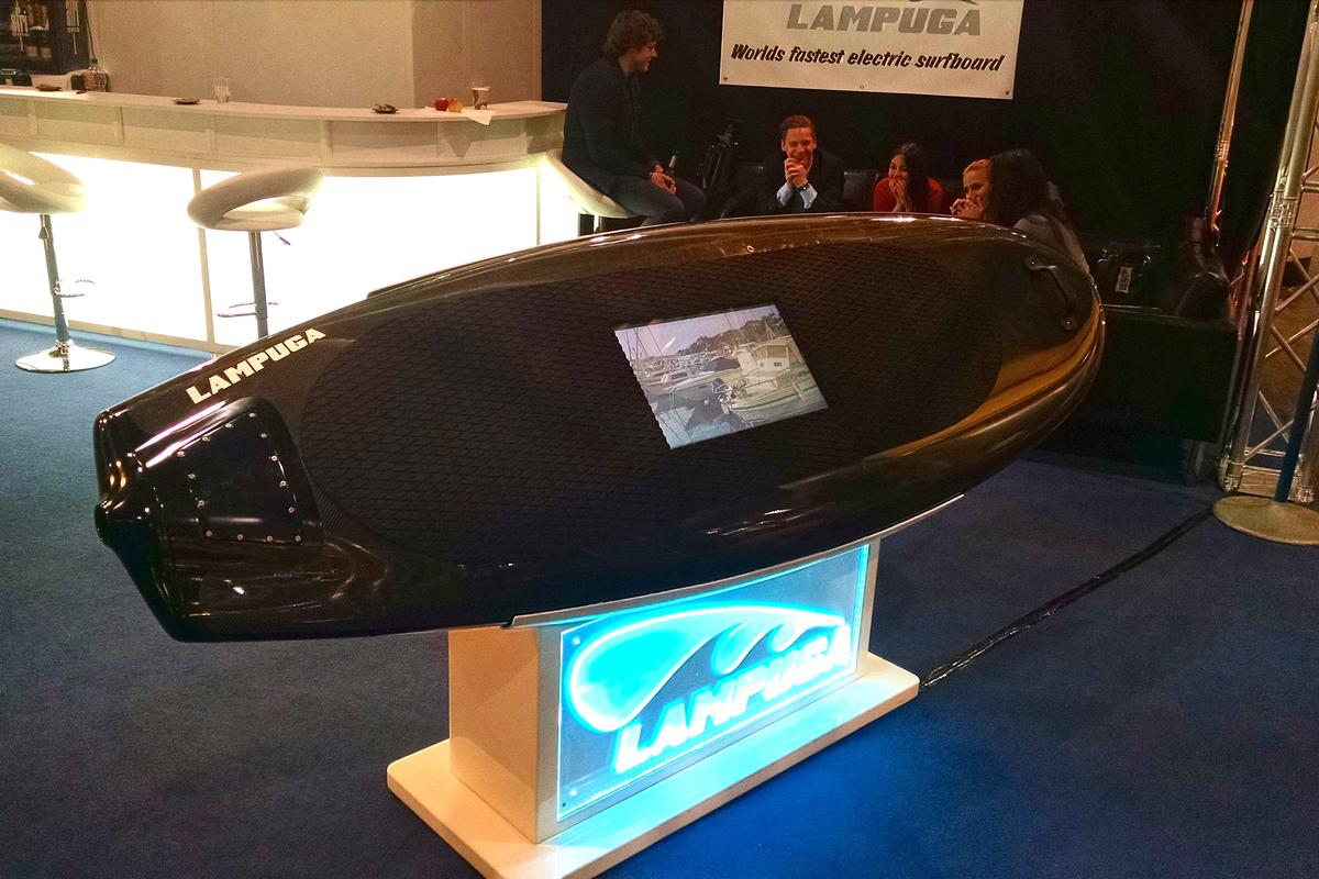 The Lampuga is a design of Hamburg-based Sashay GmbH (Photo: C.C. Weiss/Gizmag)