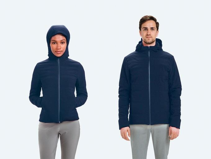 Made from a mix of polyester and polyurethane, the Mercury jacket itself is waterproof, windproof and odor resistant