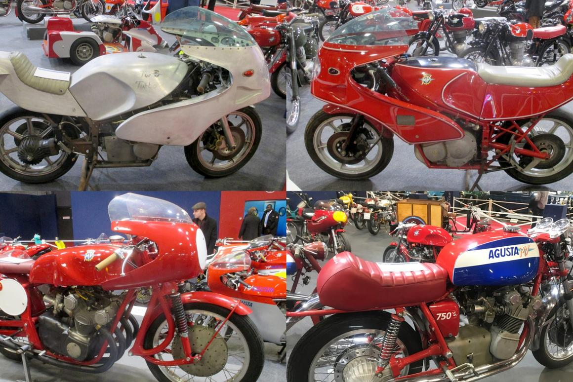 Collection of rare prototype, road and racing MV Agustas