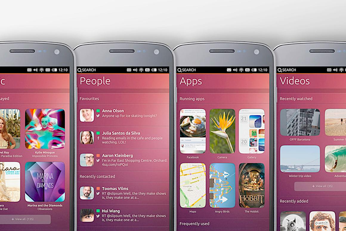 Today Canonical revealed a mobile version of its Ubuntu operating system