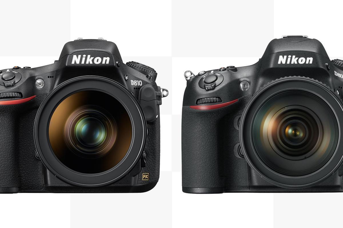Gizmag compares the Nikon D810 with the Nikon D800/E