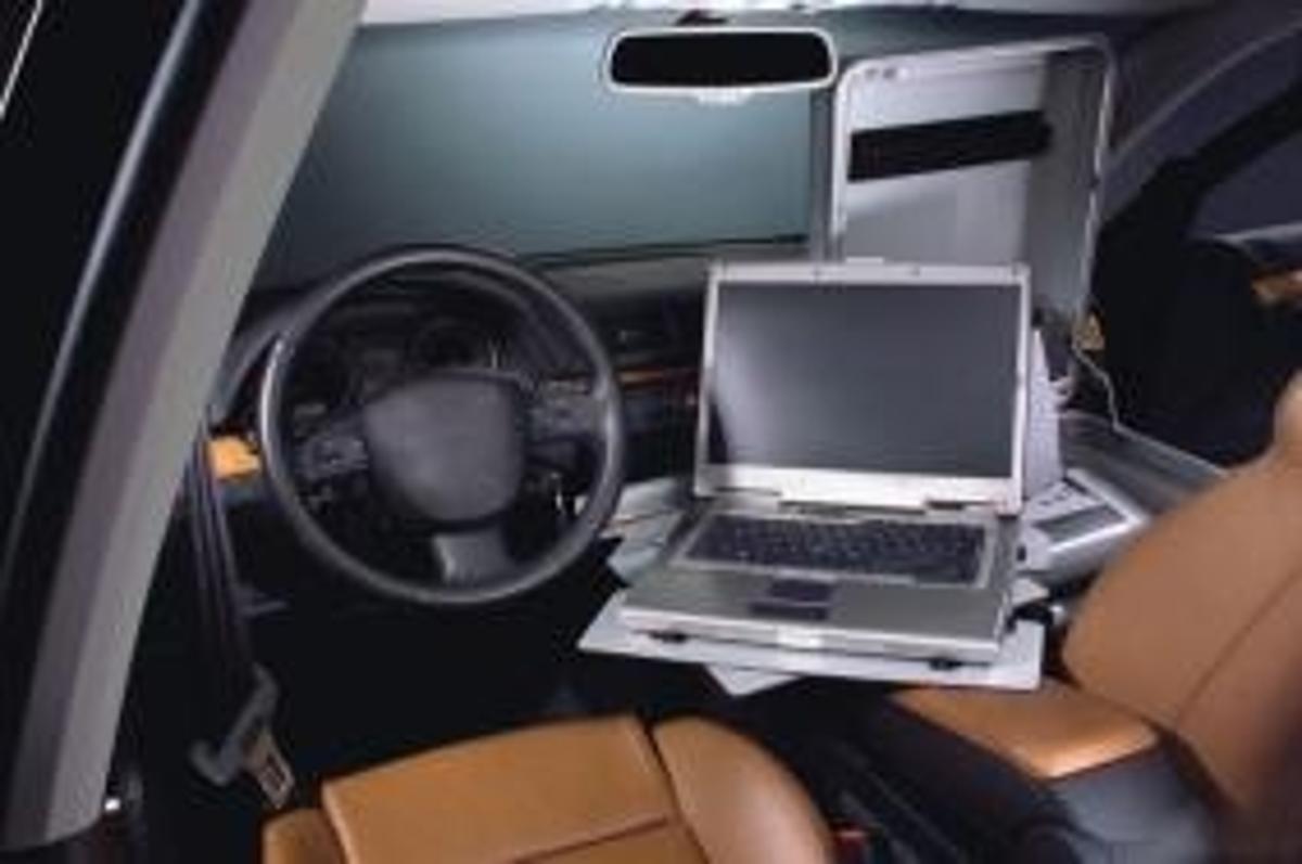 Sortimo's passenger seat organiser