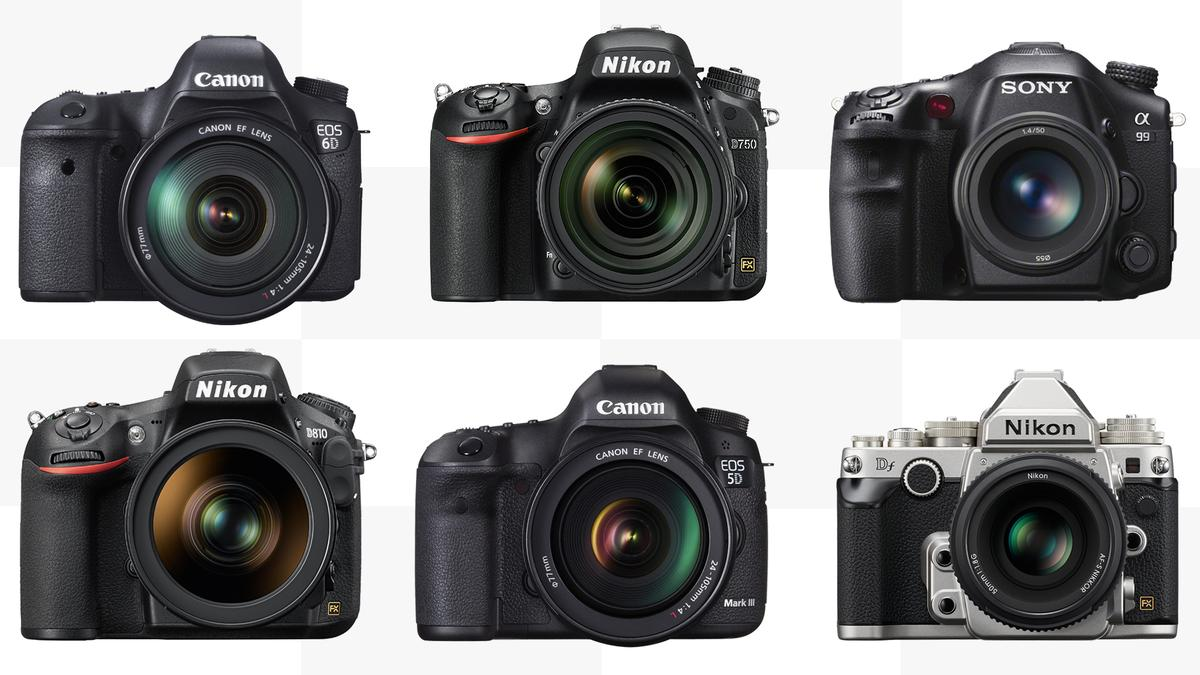 Gizmag compares the specs and features of some of the best full frame DSLRs available