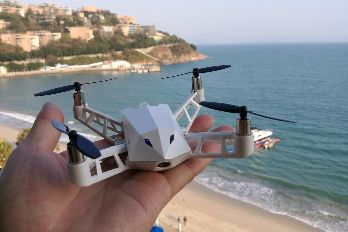 The Kudrone is equipped with a 4K camera, GPS and a position-holding system
