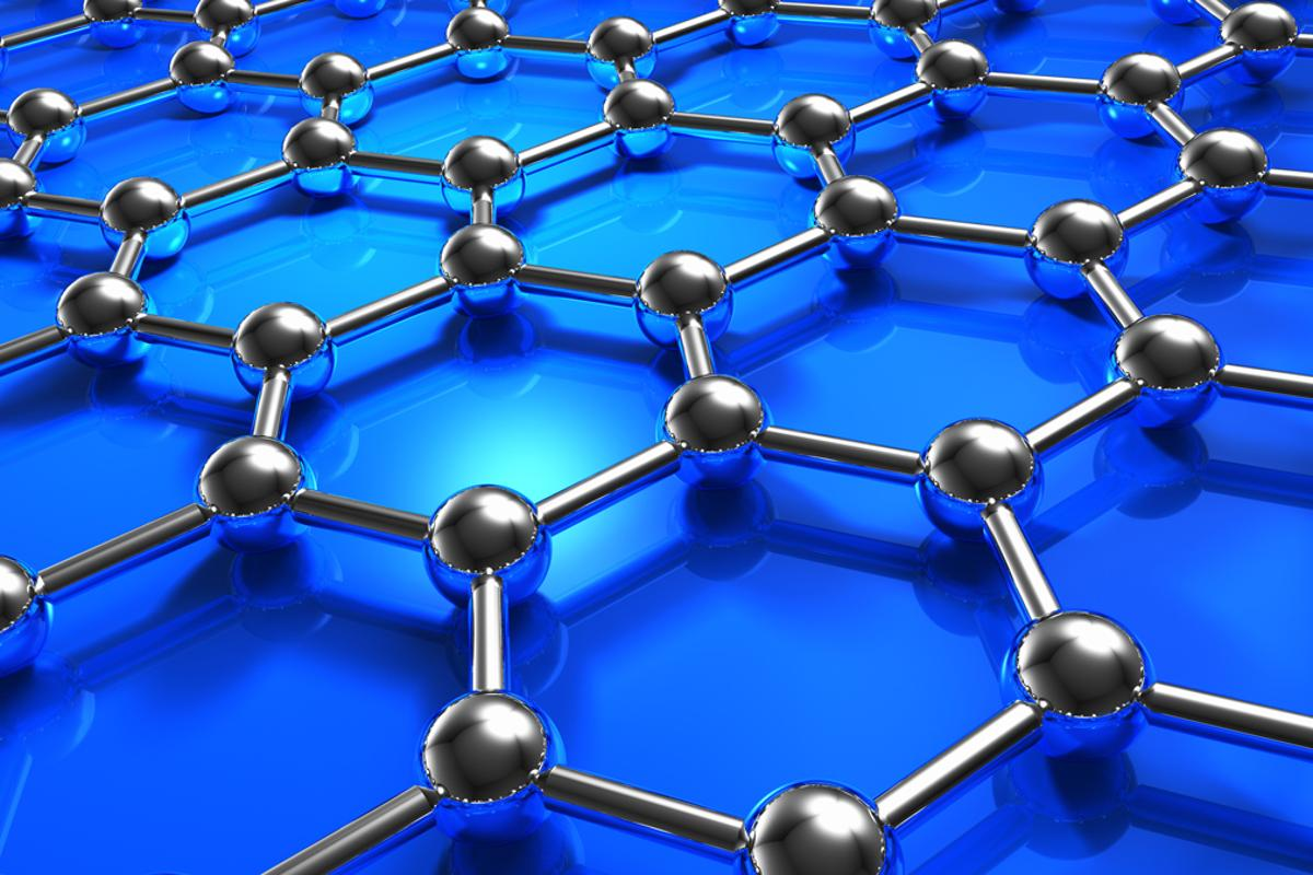 KIST researchers have developed a material that has properties similar to graphene but is easy to mass-produce