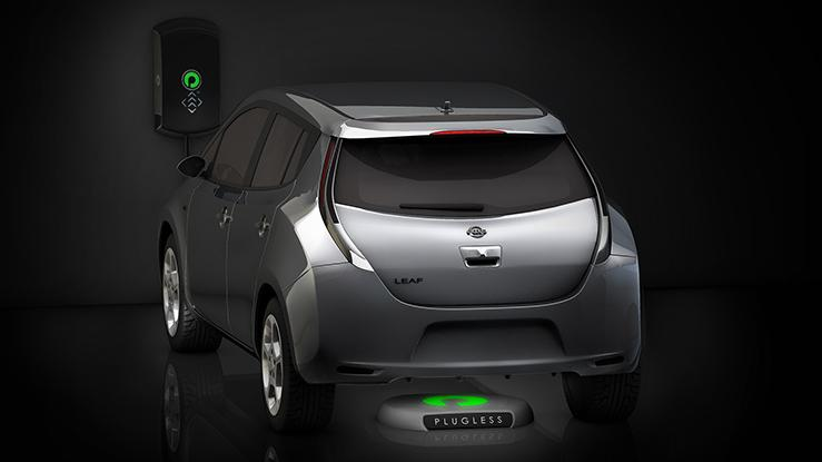 The Plugless Level 2 Electric Vehicle Charging System is the first commercially-available wireless EV charging system in the US