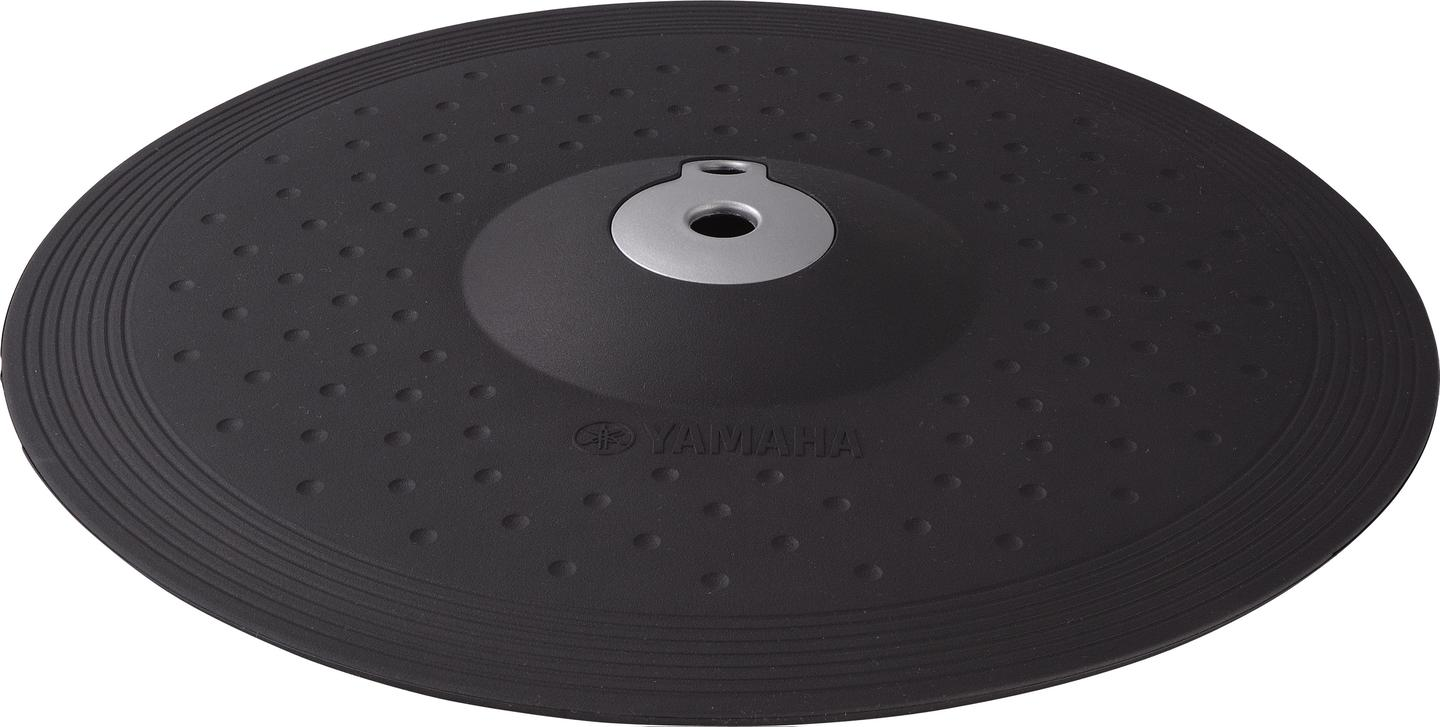 The 13-inch cymbal has both choke and mute features on its cup, bow and edge voices