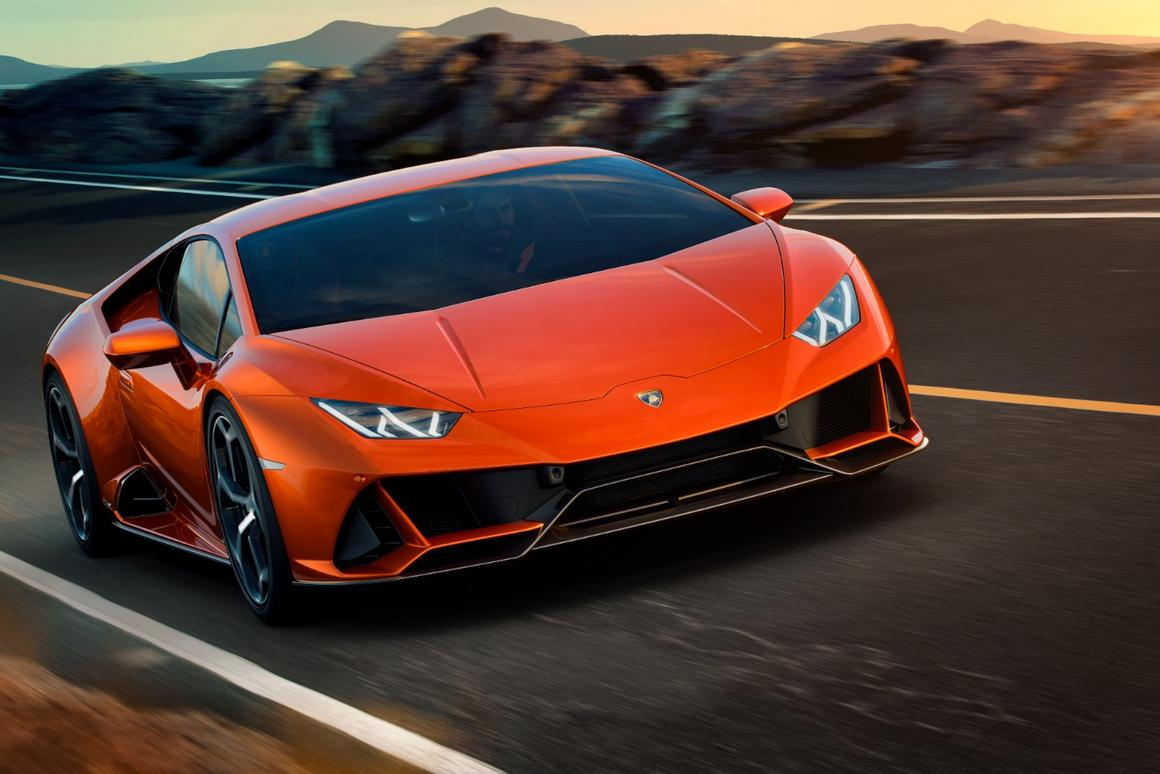 The Evo gets its name because it is, literally, an evolution of the Huracan into new territory for the fighting bull