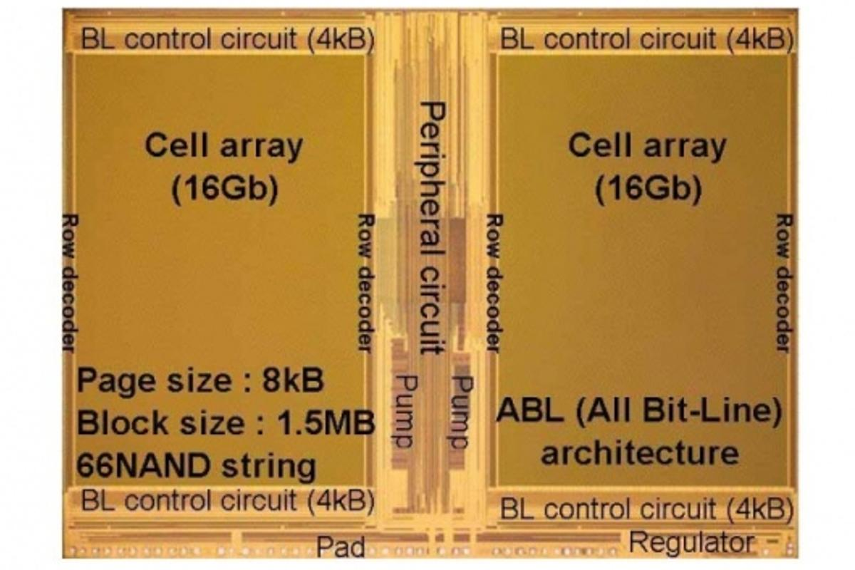 The 3-bit-per cell, 32nm chip.