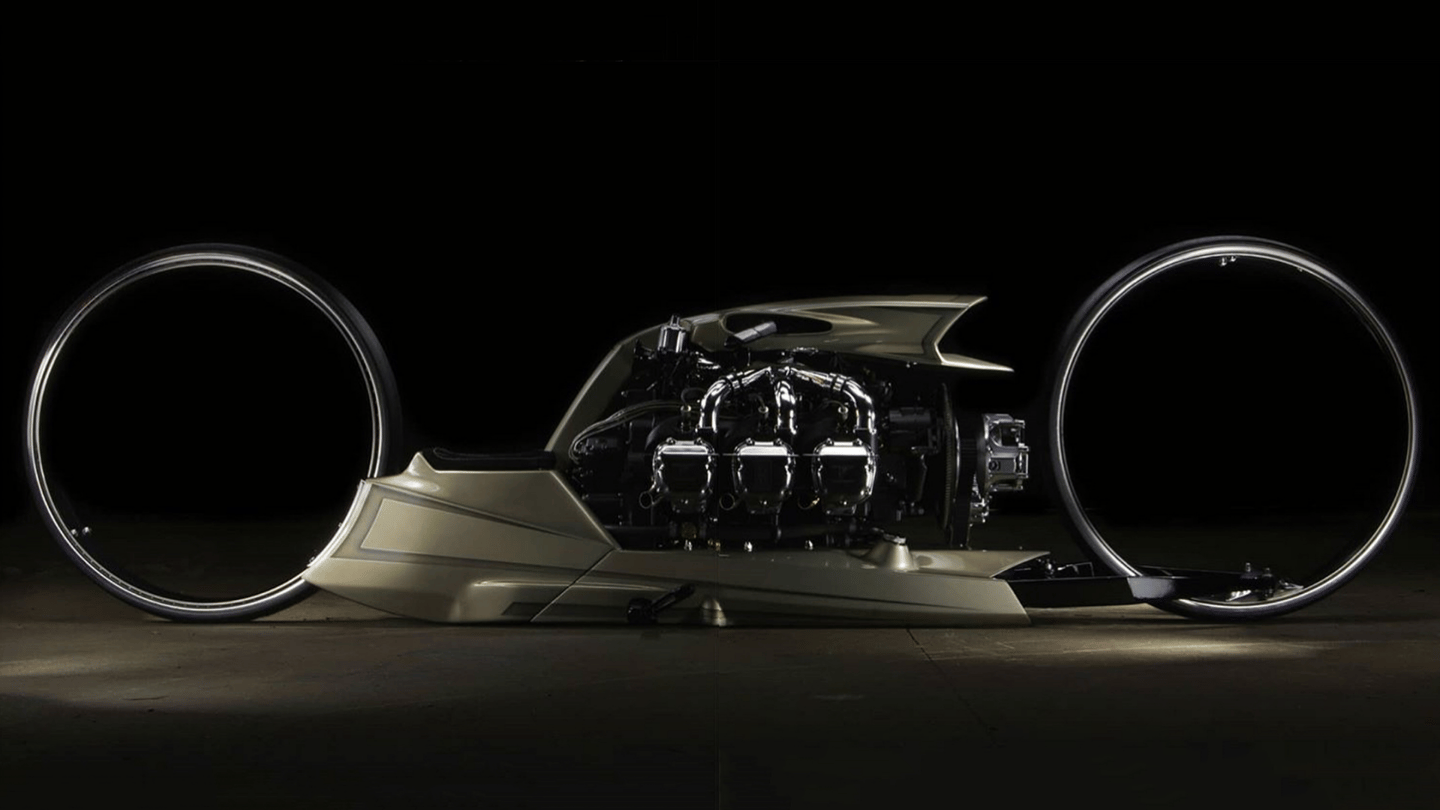 One of the most outrageous custom motorcycles in recent years: the TMC Dumont