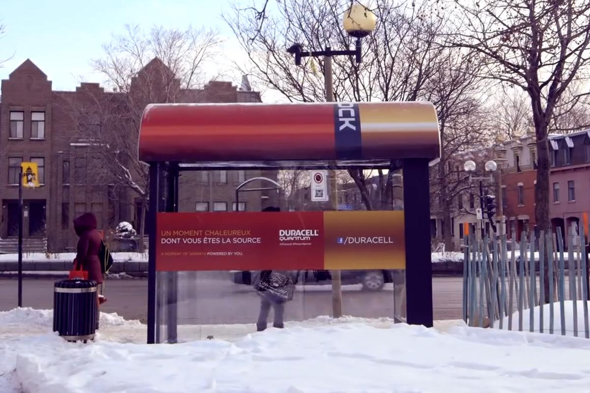 The heated bus shelter in Montreal that encourages commuters to reach out to each other