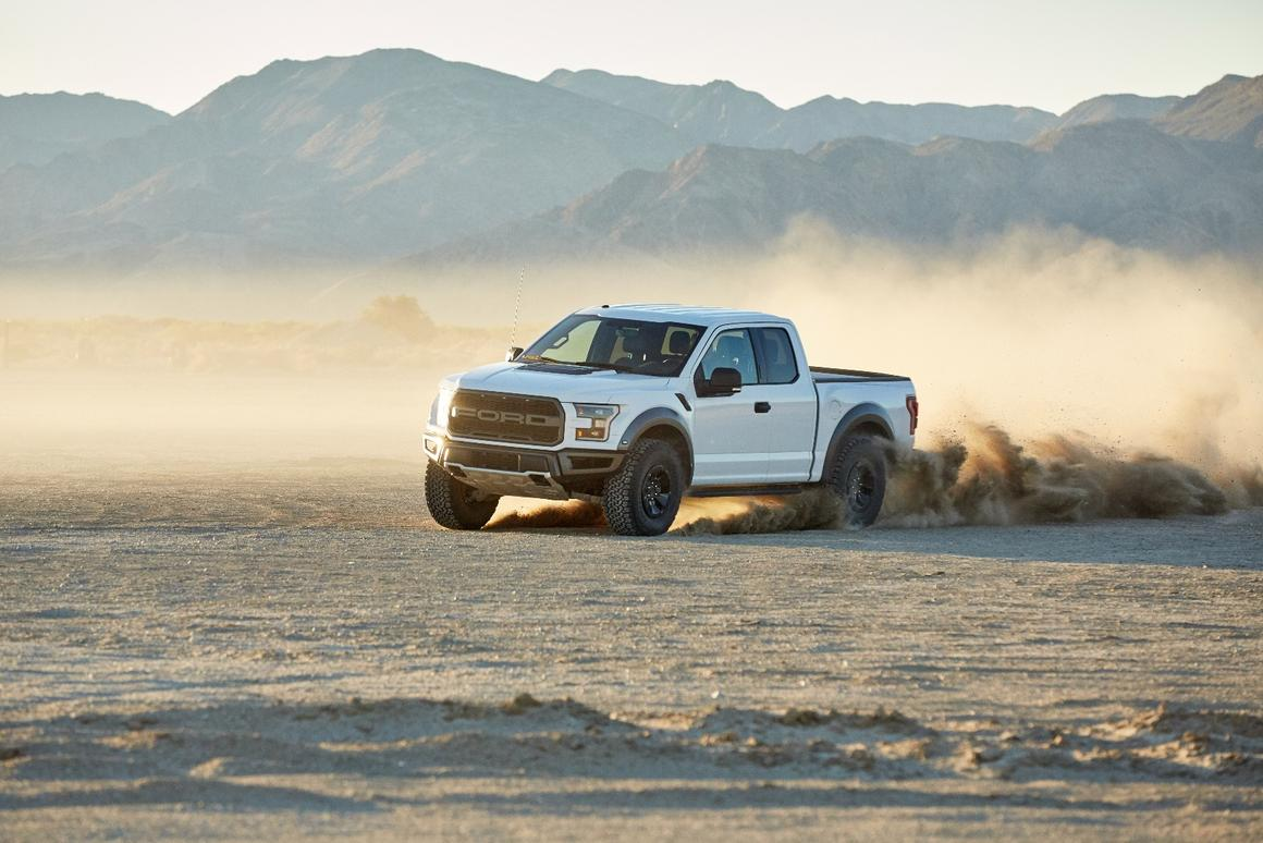 The Ford F-150 Raptor will be tweakable with a mode switch in the car