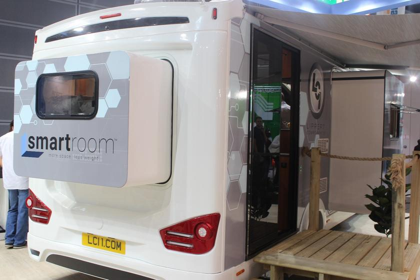 Concept motorhome blows up in size with 4 slide-outs and a