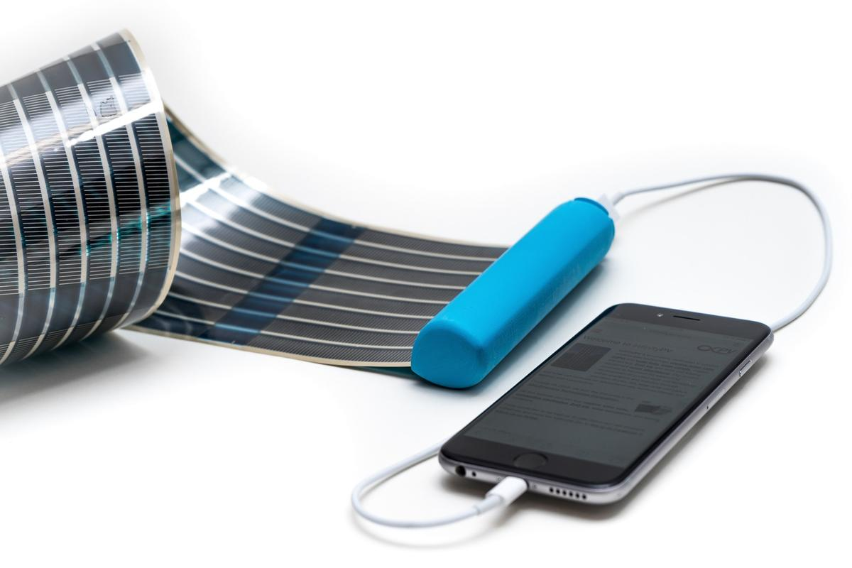 The HeLi-on solar panel is designed to generate up to 3 W of power under standard conditions