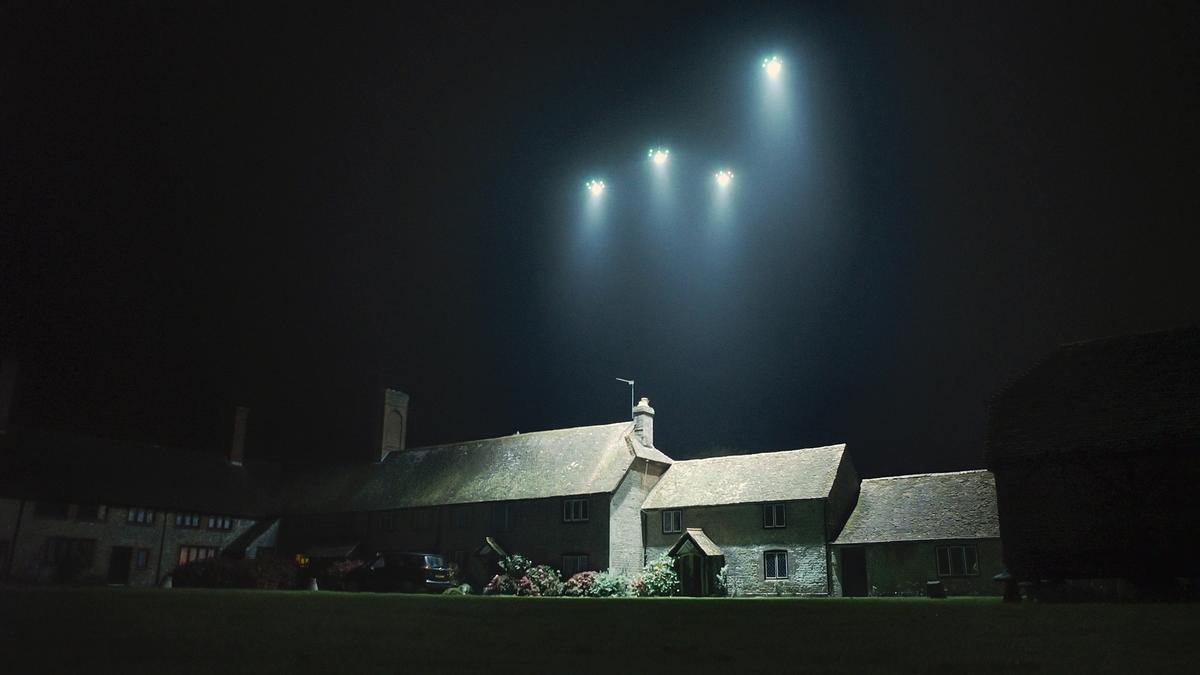 The Fleetlights concept sees drone-mounted lighting flown to a user-requested location