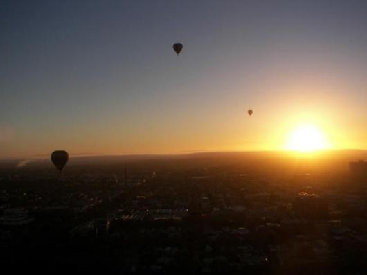 Daybreak in a balloon - memorable stuff