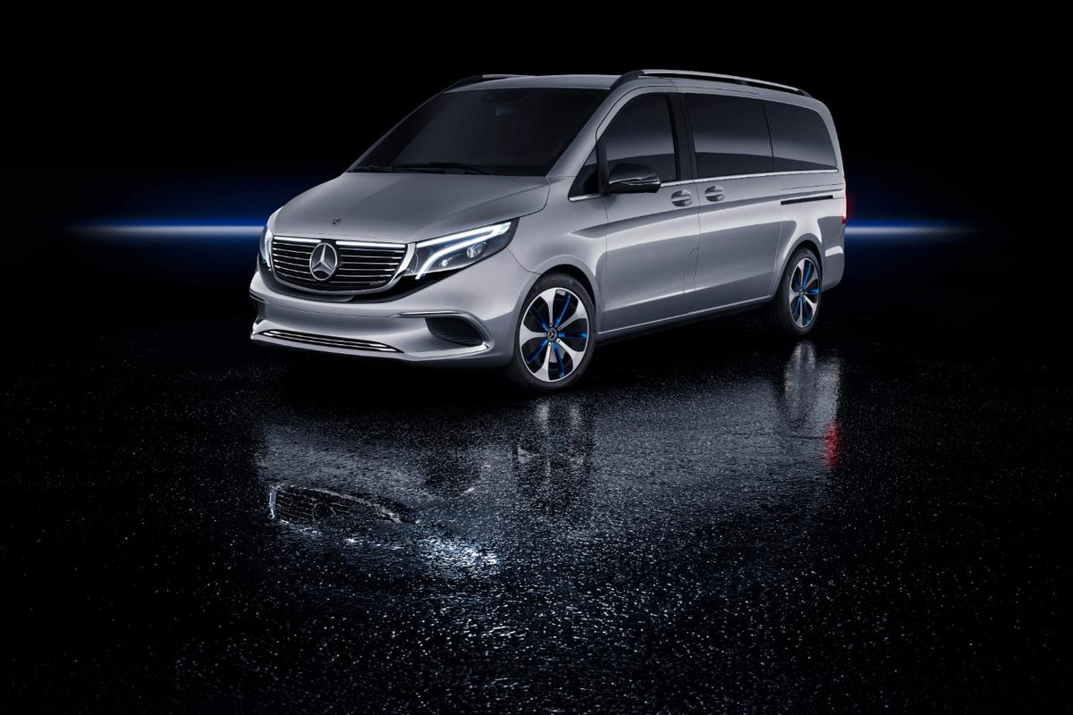 Mercedes unveiled the Concept EQV at the Geneva Motor Show, to a surprised audience