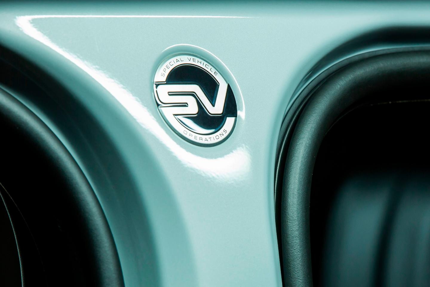 Land Rover has handed the SVAutobiography over to the SVOdivision