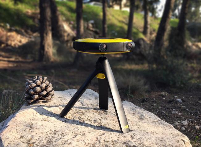 The Vuze a 3D VR camera, which is said to be easy to use