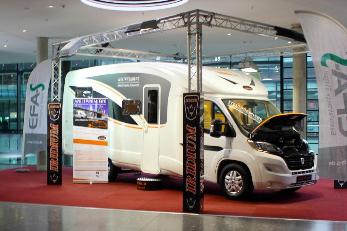 Fully electric motorhome offers nearly 190 miles of