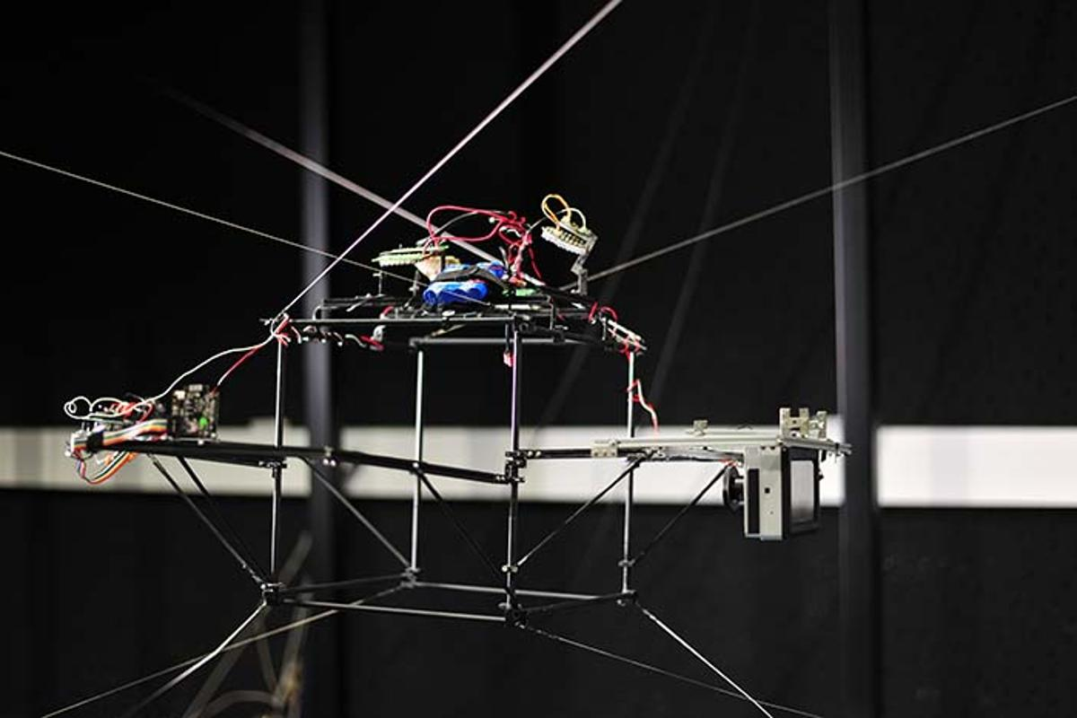 The lab-on-cables insect-tracking camera platform