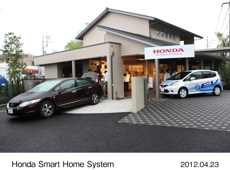 The Honda Smart Home System Demonstration Testing House