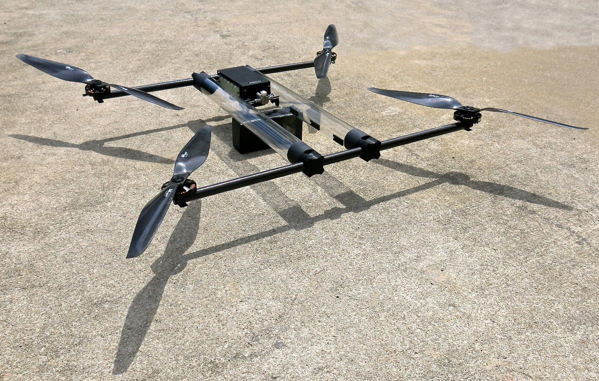 Horizon hopes to set a new endurance record, with its long-flying Hycopter drone