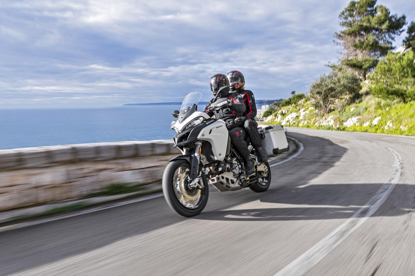 The Ducati Multistrada Enduro is built with longer adventures in mind
