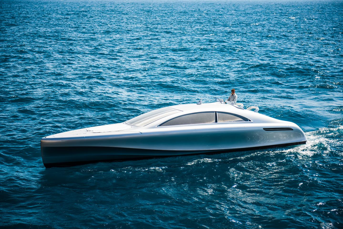 Mercedes-Benz has teamed up with Silver Arrows Marine to create an exclusive yacht