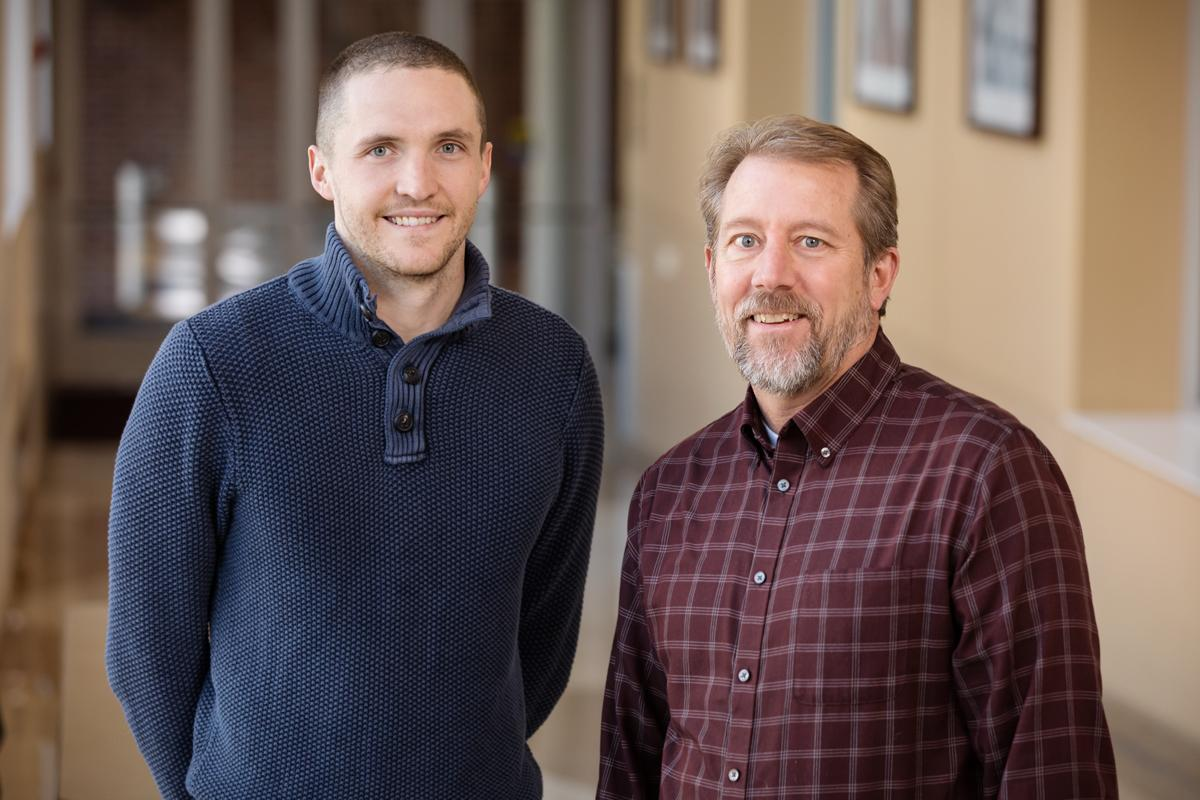 Jacob Allen, left, Jeffrey Woods and their colleagues found that exercise alters the microbial composition of the gut in potentially beneficial ways