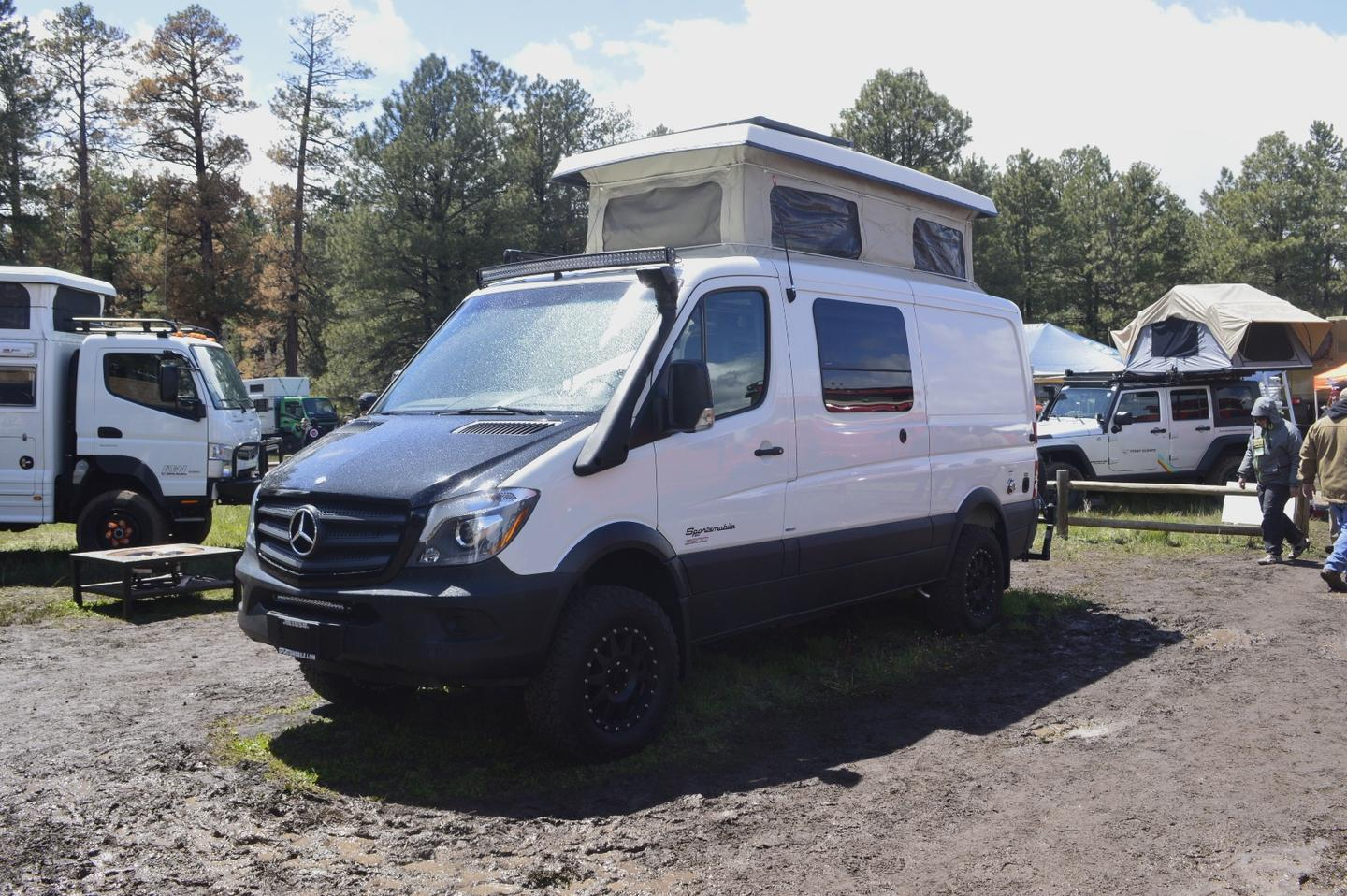 The Sportsmobile Sprinter 4x4 at Overland Expo West 2015