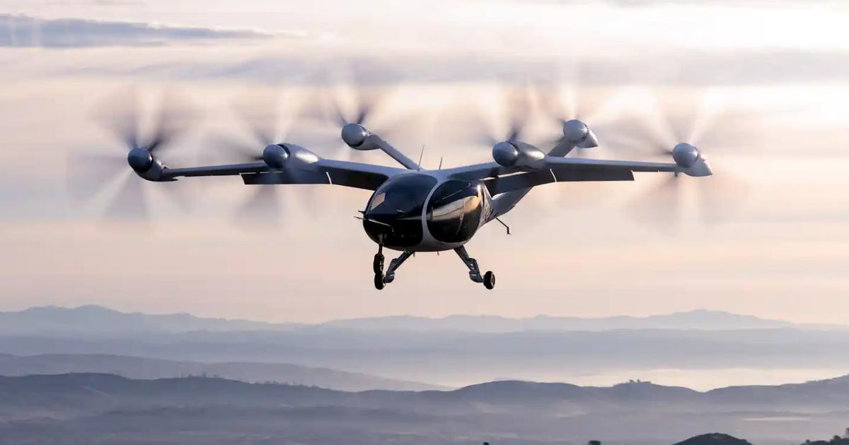 Stunning video shows just how quiet Joby's eVTOL air taxi will be