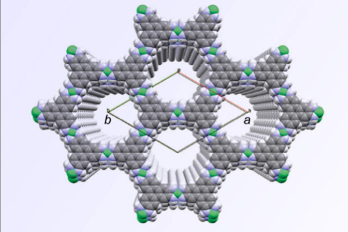 Scientists have found an alternative to graphene, that has the added bonus of self-assembly and a necessary bandgap (Image: Courtesy of researchers)